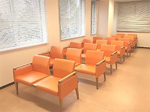 女性専用の待合スペース