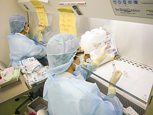 抗癌剤の調製
