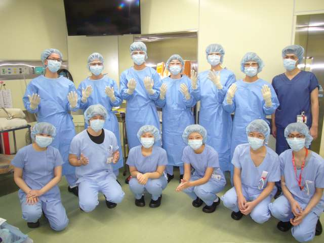 認定看護師による手術室実習